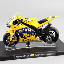 1:18 scale No.46 Valentino Rossi Yamaha YZR-M1 World Championship 2006 motogp motorcycle Bike Moto diecast racing toy car models(China)