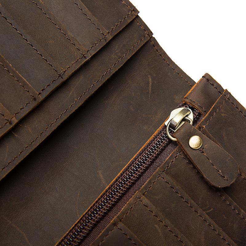 chain leather men wallets (11)