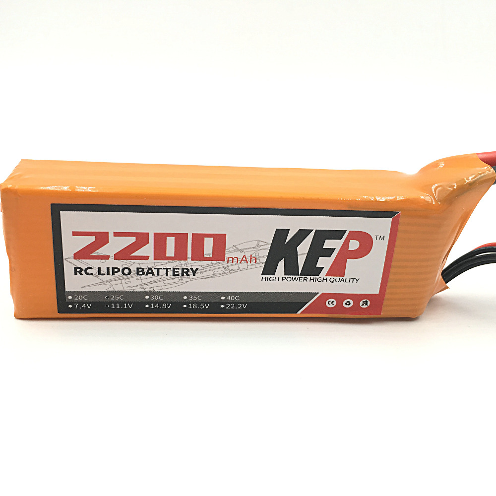 KEP 2S RC Lipo Battery 7.4v 2200mAh 30C Max 60C RC Aircraft Helicopter Car Boat Drones Quadcopter Li-Poly Battery 2S 30C