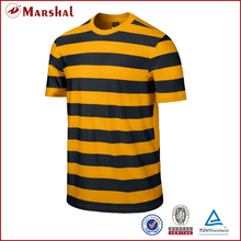 Custom Soccer Jersey tops with strips Short-sleeve Dry fit Top quality Adult V-neck 100%polyester OEM/ODM