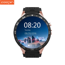 Smartwatch Phone 3G Kingwear KW88 PK Finow X5 X61.39'' Amoled 400*400 Smart Watch Calling 2.0MP Camera Gravity Sensor Pedometer