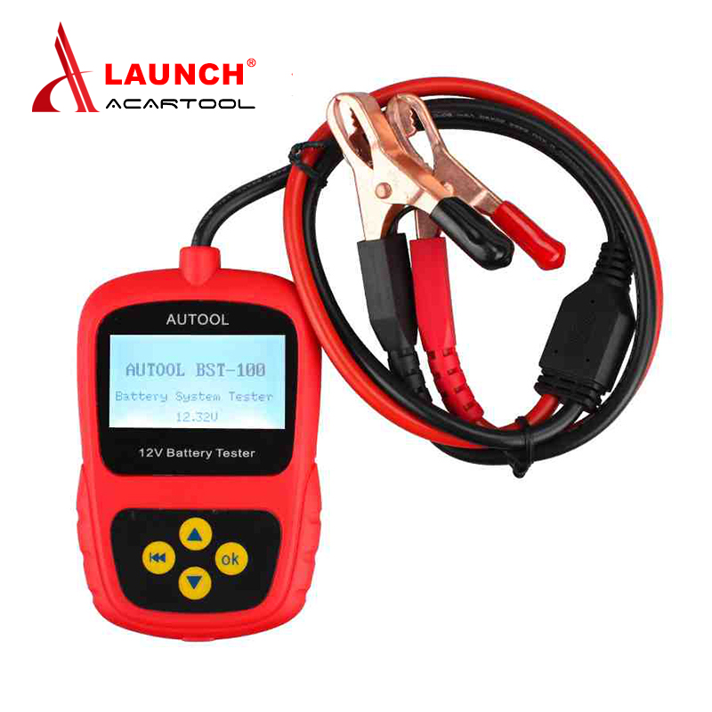 2017 Original Auto Battery Tester BST-100 Support Multi-language BST100 Battery Tester for 12V Free Shipping<br><br>Aliexpress