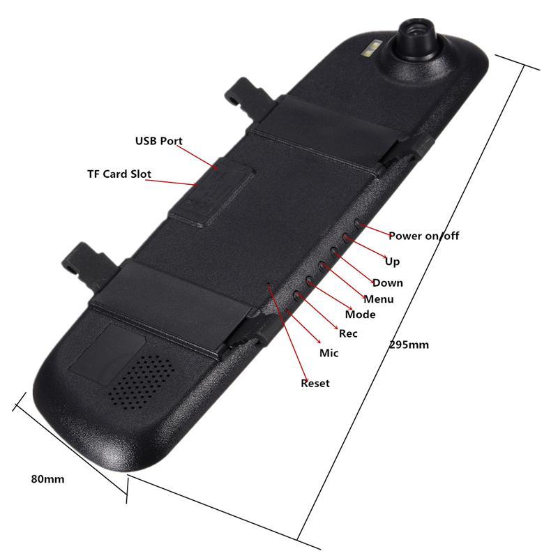 2.4 Inch 720P HD TFT Car DVR Vehicle Camera Lens Video Recorder Dash Cam G-sensor Night Vision Parking Video Recorder 10