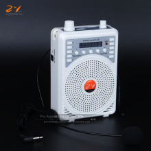 48W Portable Amplifier AMP Voice Booster Multifunctional Teaching Speaker FM MP3 Microphone Remote Control For Coach Teach Guide