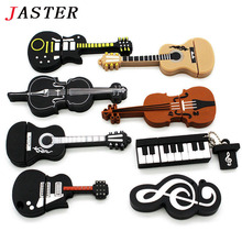 JASTER Cartoon Musical Notation model usb flash drive 8gb usb2.0 pen drive 32gb u disk pendriver flash memory usb stick
