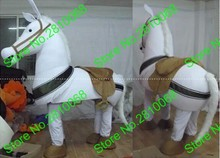 QIANYIDUOO EVA Material Two people wearing show white Horse Mascot Costumes Movie props cartoon Apparel Four styles 478(China)