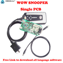 Bluetooth Tcs Cdp free download V5.008 R2 Software all language WOW SNOOPER Single PCB TCS CDP pro Free shipping