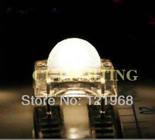 Factory wholesale Warm white 5mm high flux piranha led 2800-3200K 3.0-3.5V 200pcs free shipping