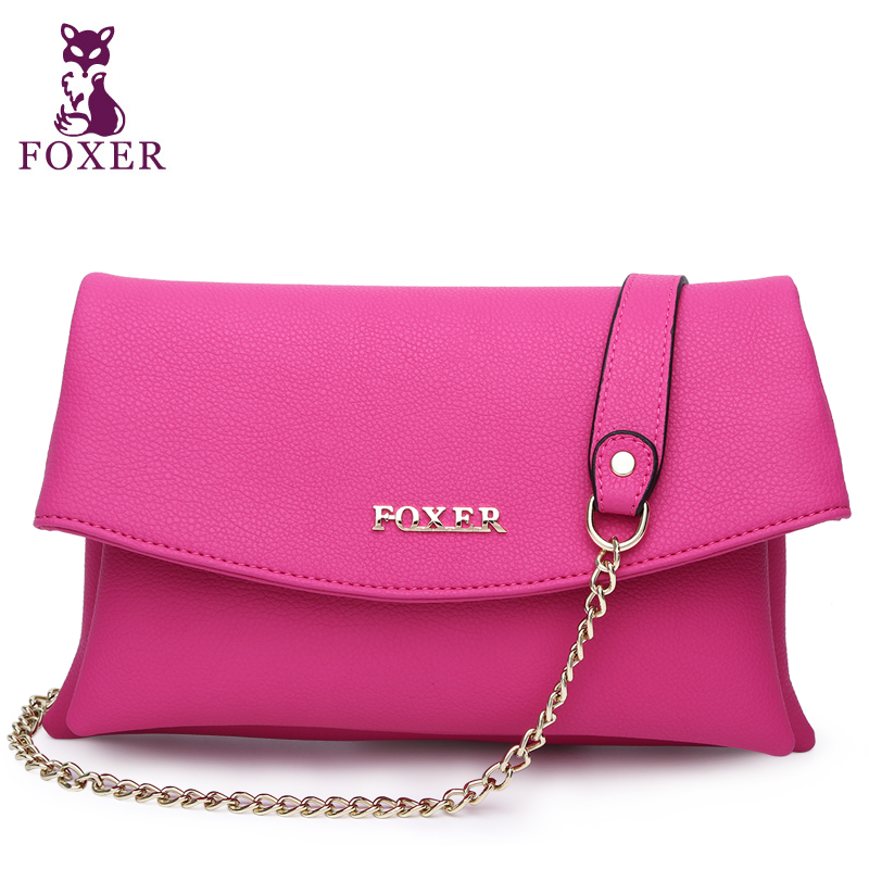 Fashion Style Foxer 100% Genuine Leather Womens Shoulder bags  Ladies Crossbody bag Messenger  Bags For Women<br><br>Aliexpress