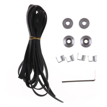 2.5m 20T GT2 Timing Belt +4pcs Pulley Idler + 4pcs Tensioner 3D Printer Tool Set v(China)