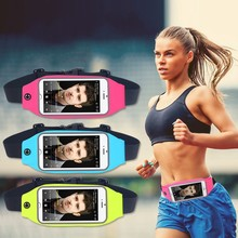 Waterproof Sport Gym Waist Bag Case For iPhone6 7 Plus Samsung Galaxy S8 S7 A3 J1 2016 LG Running Wallet Card Holder Phone Pouch