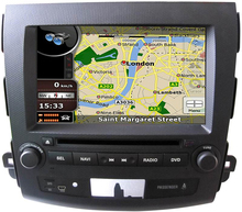 MTK3360 512Mb faster speed WINCE 6.0 car DVD player gps for MITSUBISHI OUTLANDER 2006-2012 radio bluetooth map camera autoradio