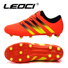 High Quality Men's Soccer Cleats Boots Botas de Futbol Men Turf Athletic Sneakers Football Soccer Shoes Zapatillas Cleats Boots