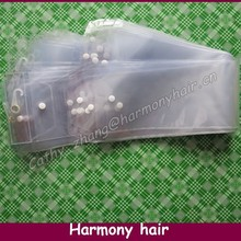 "FREE SHIPPING! PVC Packaging For Weave Hair Packaging Bags (30 pieces/lot 5.25"" width) durable best quality"
