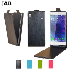 For Lenovo A7600 a7600 Flip Cover Colors Open Up and Down Type Leather PU Case Perfect Design For Lenovo A 7600 cover case Shell(China)