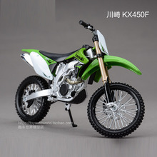 Freeshipping Maisto Kawasaki KX 450F 1:12 Motorcycles Diecast Metal Sport Bike Model Toy New in Box For Kids