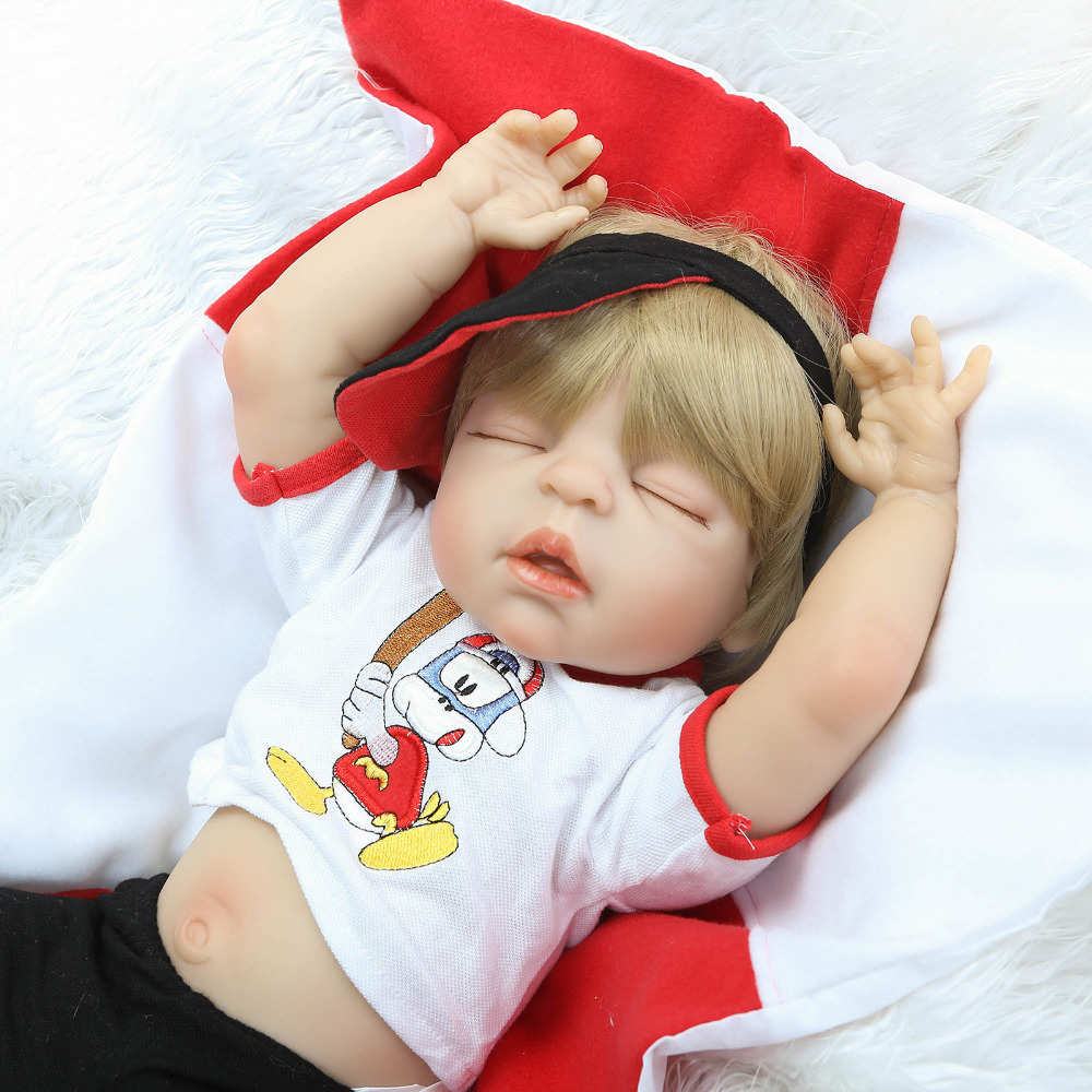 55cm Full Body Silicone Reborn Baby Doll Toys Lifelike NPKCOLLECTION Fashion Baby-Reborn Boy Babies Dolls Girls Gift Brinquedos<br><br>Aliexpress