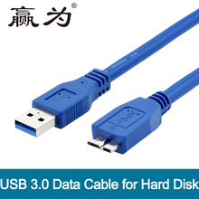 USB 3.0 Type A to Micro B Cable USB3.0 Fast Data Sync Cable Cord for External Hard Drive Disk HDD Male to Male 0.3m 0.5m 1m 1.5m