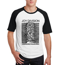 plus size Joy Division Unknown Pleasure T Shirt Men harajuku Punk hip-hop top Hot raglan short sleeve brand clothing 2017 summer