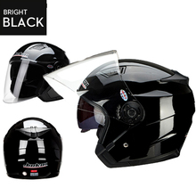 2016 NEW JieKai dual lens motorcycle helmet unisex electric bicycle Scooter helmets motorbike helmets motorcycle helmet