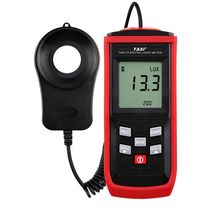 TASI TA8132 digital light meter, 200,000 LUX range, Split type luminance meter.