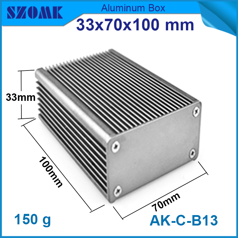 1 piece free shipping electro shocker metal enclosure diy box aluminium housing for GPS tracking enclosures 25.3x56.7 mm<br><br>Aliexpress