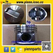 Cumminss A2300 Piston 4901212 4900737 with pin and clips for DOOSAN DAEWOO D20S D25S D30S FORKLIFT A2300 diesel engine parts