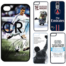 Cristiano Ronaldo CR7/ VR46/Rocky Balboa Motivational Words Cover Case for iPhone 4 4S 5 5S 5C 6 6S plus iPod Touch 5 Phone Case