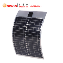 DOKIO Brand Flexible Solar Panel 20W Monocrystalline Silicon Solar Panels China 18V 530*333*20MM Size Top Quality painel solar(China)