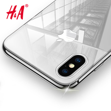 H&A Luxury Soft TPU Ultra Crystal Clear Case For iPhone 8 7 6 6s Plus Cover Cases For iPhone X 8 7 6s Plus Silicone Case(China)