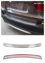 FOR BMW X3 F25 2011 - 2013 Stainless Steel Exterior Outer Rear Bumper Guard Plate Decoration Trim 1pcs Glossy NEW Arrival !