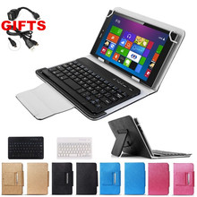 2 GIFTS UNIVERSAL Wireless Bluetooth Keyboard Case for 7 inch Tablet Lenovo A3300 A7-30 A7 30 Free Shipping(China)