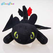 33cm How to Train Your Dragon Toothless dragon toy Night Fury Plush Toy Stuffed doll Toys