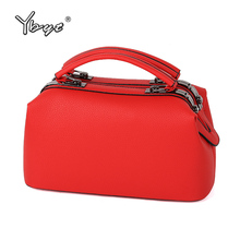 YBYT brand 2017 new vintage casual women boston totes high quality ladies shopping handbags shoulder messenger crossbody bags