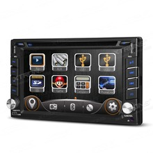 "6.2"" Double Din Car DVD Two Din Car Radio 2 Din Car GPS with Dashboard Style User Interface & Android Mirror Link Function"