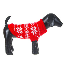 Dogs Clothing Winter Dogs Pet Xmas Snowflake Sweater Clothes Knit Coat Cozy Apparel XS-XXL Best