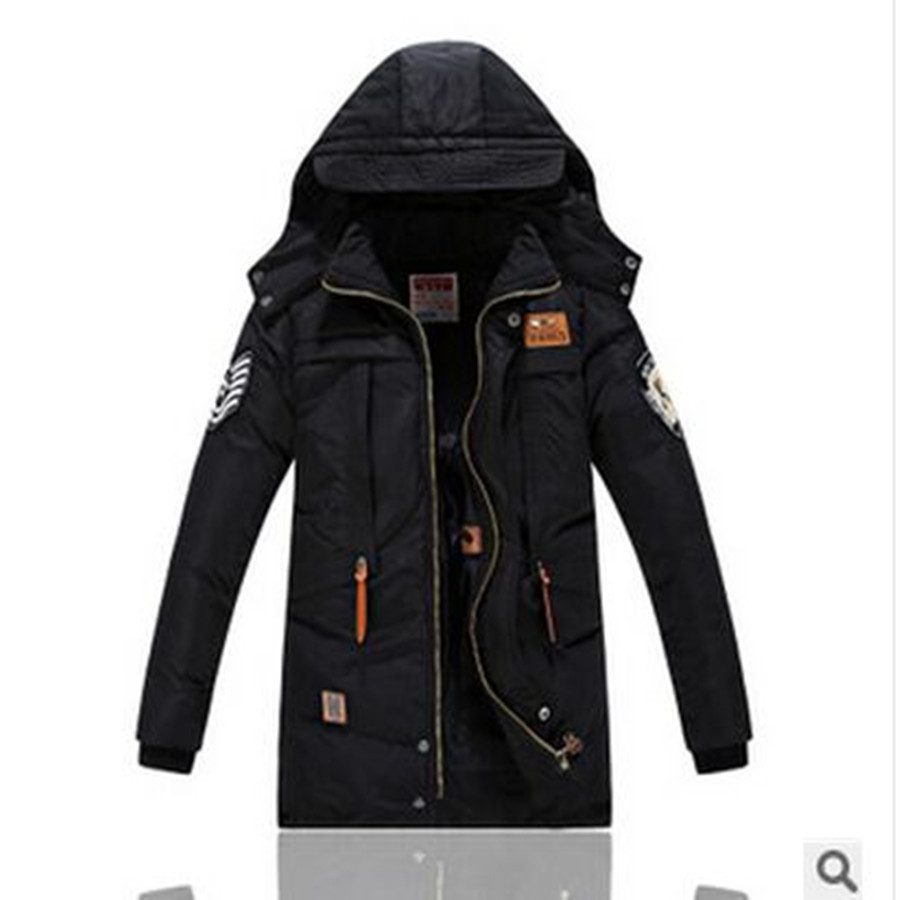 2017 Childrens Winter Jackets Cotton-padded Boys Winter  Hooded  Windproof Thick  Warm Kids Parka Outerwear -30 degree 8-14yearОдежда и ак�е��уары<br><br><br>Aliexpress