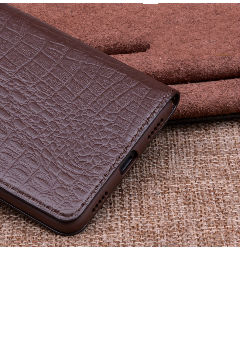 For Xiaomi Mi 9 Case Mi9 Cover Luxury Geniuine Cowhide Leather Soft Silicone Cases for Xiaomi Mi9 Case Flip Cover Case14