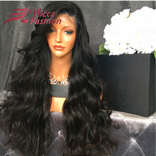 2016 7A Grade Unprocessed Virgin Brazilian Full Lace Human Hair Wigs Lace Front Wigs Glueless Full Lace Wig for Black Women