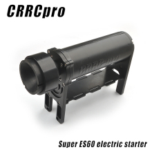 CRRCpro ES60 Electric Starter with XT60 Plug for 15CC-62CC Gasoline / Nitro Airplane / Helicopter
