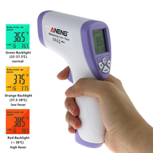 ANENG AN201 Digital Infrared Baby Thermometer Adult Non-Contact Forehead Temperature Meter 32 ~ 43C / 90-109.4F(China)