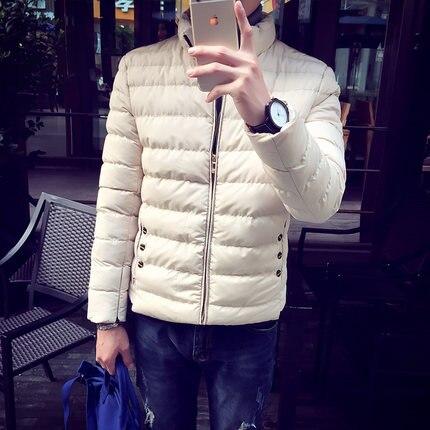 High Quality Hombre  2017 Men Winter Coat Thick Parkas Mens Down Jackets Male Windbreaker Blue Black  Jacket Free ShippingÎäåæäà è àêñåññóàðû<br><br>