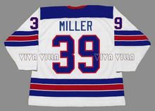 Usa Hockey Jersey 39 Ryan Miller 1980 Miracle On Team Usa Ice Hockey Jersey Customize Any Name Any Number Stitched Jerseys(China)