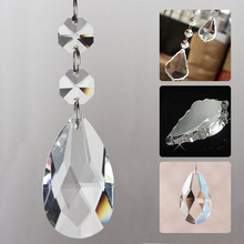 New Irregular Geometric Polished Craft Ornaments Bead Curtains Maple Leaves Crystal Lighting Pendants