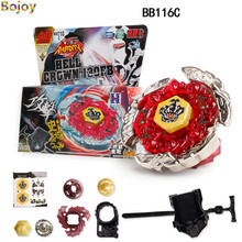 Beyblade burst Fusion Set toys Metal race Spinning Tops for kids spinner 4D big Launcher Kids Game Toys xmas Gift Gyroscope(China)