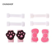 CHUNGHOP kawaii Cartoon Cable Winder Cover Protector for USB Data Cable Winder Phone Charger Earphone Cable Protective Case Spot(China)