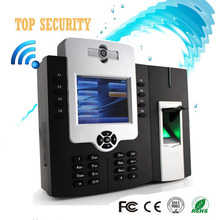 WIFI TCP/IP fingerprint time attendance and access control with back up battery and built in camera iclock880