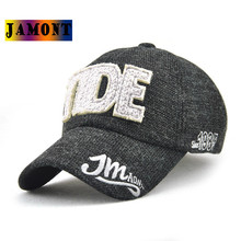 JAMONT baseball cap Embroidery Hip Hop Stylish High Quality Promotion Fall Winter Cotton Men Bone Casquette Vintage Sun Hat(China)