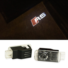 Car Door Welcome Logo Projector Light Logo LED Ghost Shadow Courtesy Lamp for AUDI R8 Q5 Q7 TT RS A3 A4 A5 A6 A7 A8