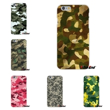 For Sony Xperia Z Z1 Z2 Z3 Z5 compact M2 M4 M5 E3 T3 XA Aqua Camouflage Pattern Camo Army Hunter Soft  Case Silicone